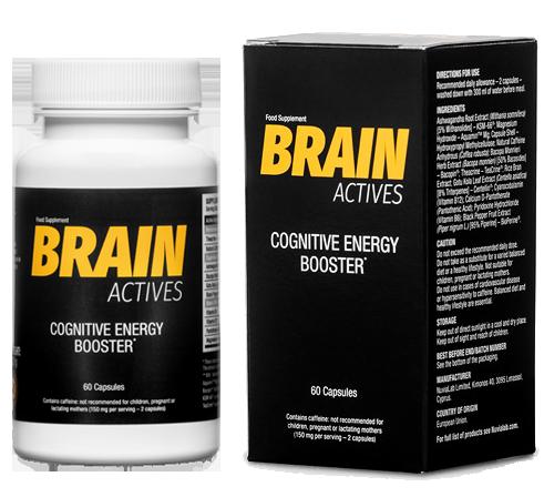 Brain Actives是改善大腦功能並全天為自己提供能量的好方法!